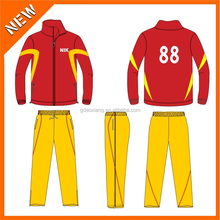Custom made in China jackets no moq limit, wholesale custom new arrival track suit