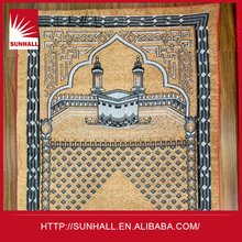 2015 Hot sale low price 70x110cm fashion printing design prayer rugs