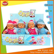 12 PCS 14 inch Life Size Baby Doll with IC