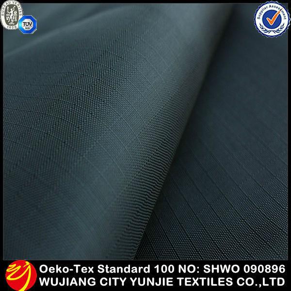 Tissu imperméable en plein air housse de coussin / étanche polyester tissu / tissu parachute imperméable