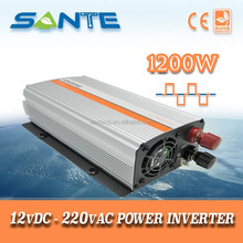 Reliable power supply 1200W 12V to 220V dc to ac modified sine wave inverter