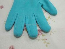 2015 exfoliant main spa spa équipement équipement de la main et pieds soins de la peau Nylon gants de Gel