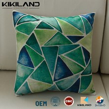 latest triangle pattern design cushion covers home decorative sofa pillow case covers