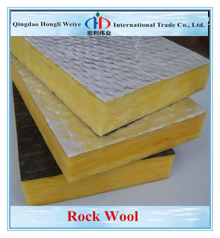 Rock Wool For Thermal Insulation Of Hot Water Pipes Buy