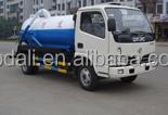 4ton mini Vaccum Sewage Suction trucks at good prices