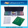 500 pcs Popular Casino Custom Poker Chip Set