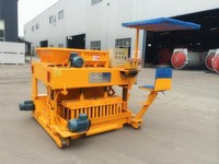 2014 Hot selling QTM6-25 movable foundation block making machine
