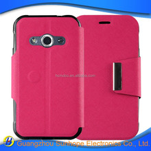 Mix colors Book Wallet Stand Flip Leather mobile case for Galaxy Xcover 3 G388F