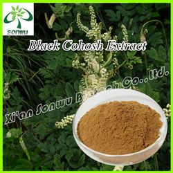 Black cohosh root extract Triterpene Glycosides