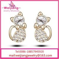 G203 2014 fashion earrings cat ears fashion earring latest fashion earrings