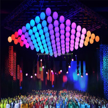 Hot Sell stage products, DMX Colorful LED Lifting Ball, LED Decorative Ball For stage performance/ concert/ dico/ party