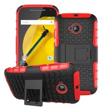 High Quality Mobile Phone Hybrid Shockproof Heavy Duty Case Cover for Moto E2