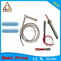 electric cartridge heater element with stainless steel hose