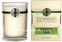 Bamboo Teak Scented Soy Candle