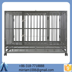 2015 Unique pretty comfortable eco-friendly and stocked large outdoor new design high quality pet houses/dog kennels/dog cages