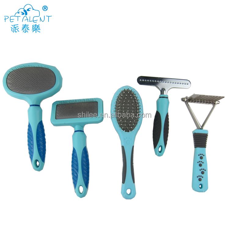 Fabricante al por mayor herramienta de la preparación del perro pelo de mascotas eliminación de cepillo