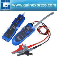 N03NF-889T Prueba de continuidad el tono de alambre cable tracker rj45 rj11 teléfono cable coaxial del emisor, clip de cocodrilo