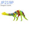 Dragon Lizard model wooden puzzle kit