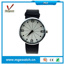 Black Leather strap watches girls students smart watches wholesales