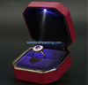 Good Quality Wedding Jewelry Ring Boxes With Led Lights