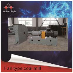 fan type coal mills