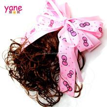 Cute printed Ribbon big bow hair accessories, big baby bows