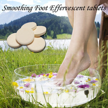 Natural herbs foot bath tablet warm body home care product
