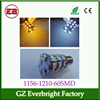 Amber & White1156 1157 brake light 60smd 3528 led light 1210smd LED Backup Light 12V,auto turn bulb