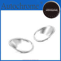 Flexible Chrome Trim ABS Chrome Front Fog light Lamp Cover Trim,Chrome Front Fog Light Cover - for Honda CRV 07-09