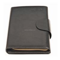 PU leather zippered organizer with ipad holder