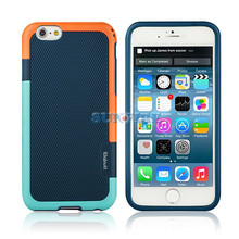 Ultra Slim Fit Hybrid case for iphone6, TPU Case Lightweight Anti-Slip with Reinforced Corners