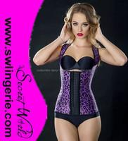 Hot fat women sexy garter corset,sxxxl sexy leather corset,corset hook and eye