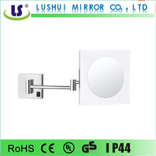 Single Side LED Wall Square Compact With Mirror with Extendable Arms