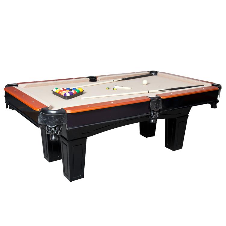 Moda elegante MDF mesas de bilhar snooker 8ft mesa de bilhar estrela à prova d' água esportes ao ar livre para