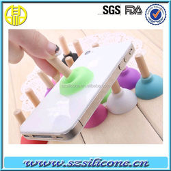 Double-Side Silicone Suction Cup Non Slip Dash Pad for Mobile phone
