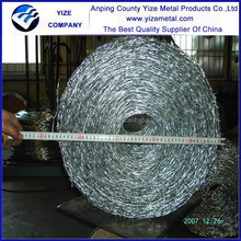 Alibaba China manufacture wonderful and beautiful metal wire with barb for fence/The best barbed wire of 2015 products