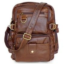 classical genuine leather backpack leather bag durable travel bag