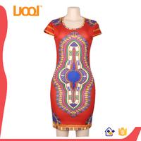 Wholesale price fashion model dashiki african dress