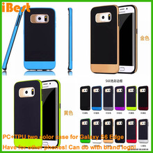 OEM cases for mobile accessories TPU+PC digital phone case 3d printer mobile phone case factory for samsung galaxy s6