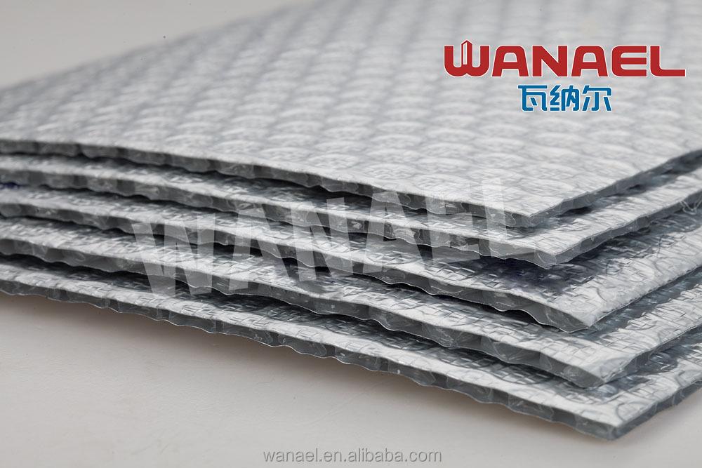 usine vente thermique r fl chissante en aluminium feuille bulle mousse de polyur thane toit. Black Bedroom Furniture Sets. Home Design Ideas