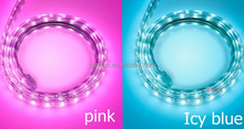 AC220 volt pink led tape light event party light decor