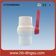 Long round handle pvc ball valves, 2 inch pvc ball valve, octagonal pvc ball valve