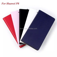 Luxury Wallet PU Leather Case Cover For Huawei P8
