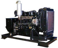 30KW Three Phase 277/480 V Mitsubishi Diesel Generator Set NEW Engine