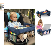 Kids Car Snack & Play Table/ Tray Waterproof Safety Portable/Car Seat Snack and Play