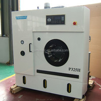 clean commercial laundry dryer washing plant used automatic dry cleaning machine