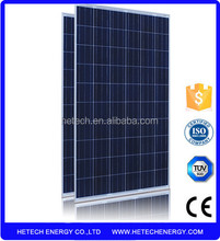 Best price Polycrystalline 250w 60 cells home solar panel kit
