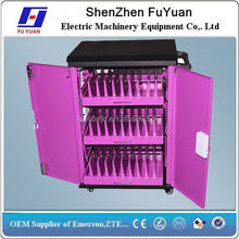 Oem Tablet Charging Station / Tabletpc Charging Trolley / High Gloss Kitchen Cabinet