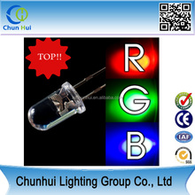wholesale high brightness light emitting diode led bulb 3mm 5mm led rgb