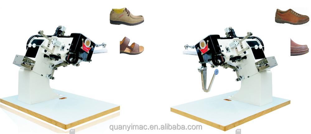 moccasin shoe sewing stitch machine